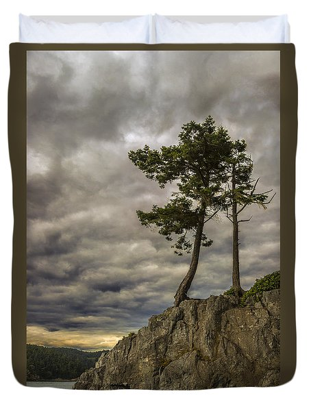 Ominous Weather Duvet Cover