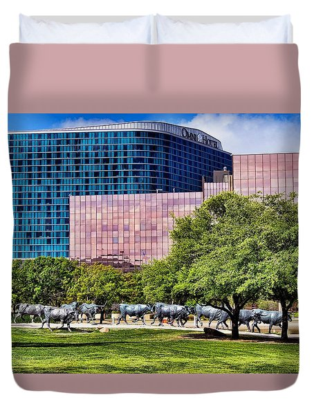 Omni Hotel Dallas Texas Duvet Cover