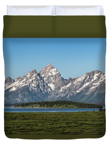 On A Clear Day Duvet Cover by Jan Davies