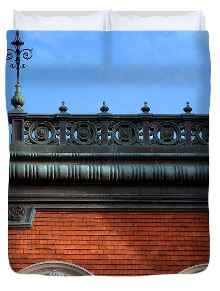 Duvet Cover featuring the photograph On A Clear Day by RC DeWinter
