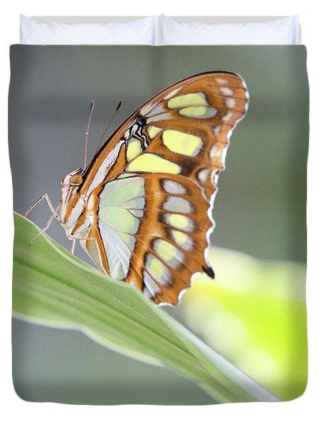 On A Leaf Duvet Cover