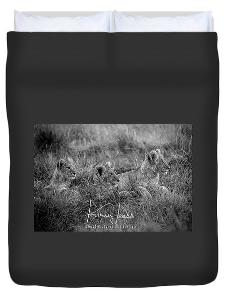 On Alert Duvet Cover
