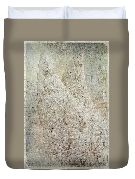 On Angels Wings 2 Duvet Cover