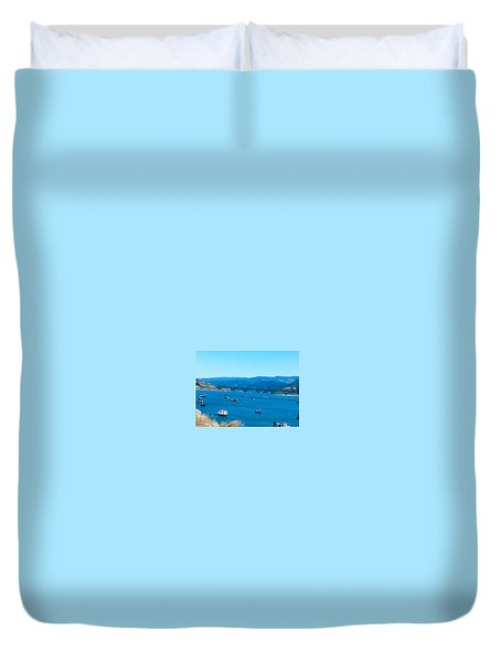 On Board For Fun  Duvet Cover