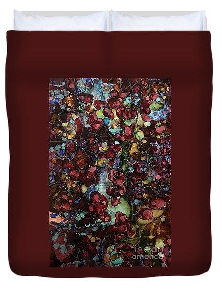 On Clustered Vine Duvet Cover