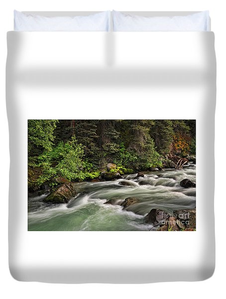 On Henson Creek Duvet Cover