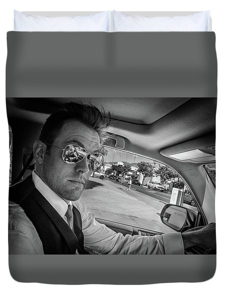 On His Way To Be Wed... Duvet Cover