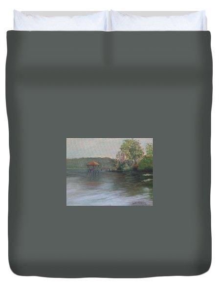On Julington Creek Duvet Cover