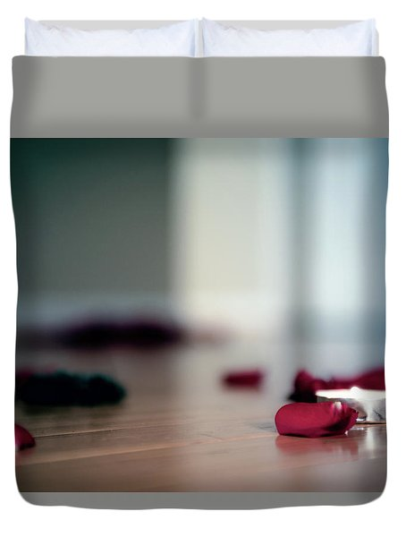 On Nature, Tragedy, And Beauty II Duvet Cover
