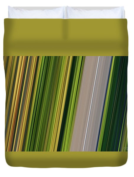 On Road II Duvet Cover