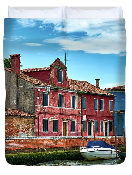 On Sale Over The Sea Duvet Cover
