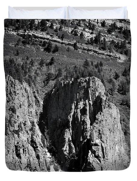 On Sandia Mountain Duvet Cover