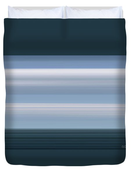 On Sea Duvet Cover
