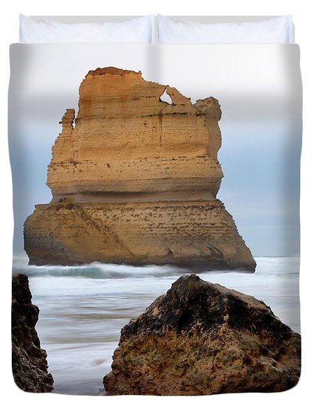 On Southern Shores Duvet Cover