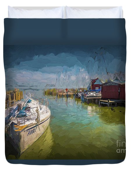 On The Baltic Sea Duvet Cover