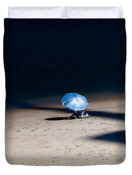 On The Beach Duvet Cover by Dave Bowman