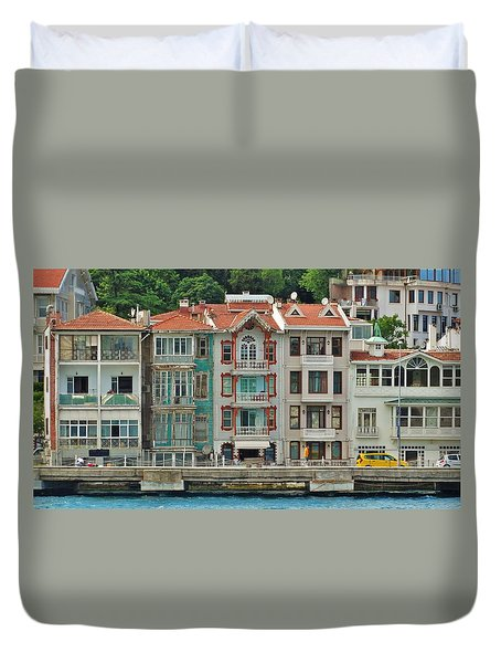 on the Bosphorus Duvet Cover