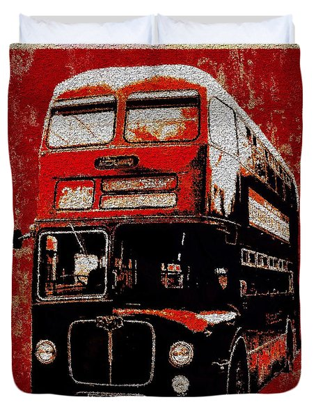 On The Bus Duvet Cover