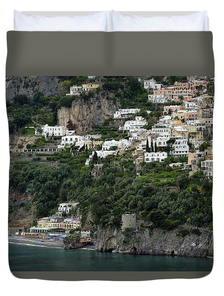 On The Coastal Road Duvet Cover