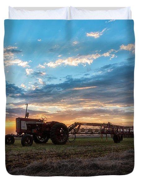 On The Farm Duvet Cover