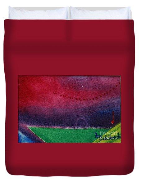 On The Horizon Duvet Cover by Ann Sokolovich