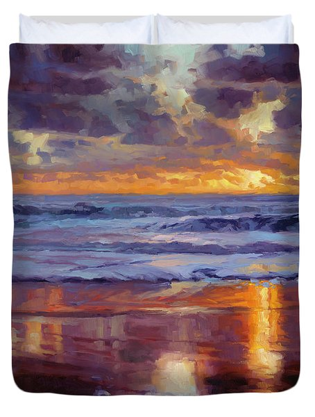 On The Horizon Duvet Cover