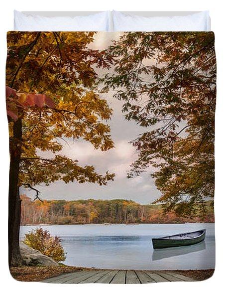 On The Lake Duvet Cover