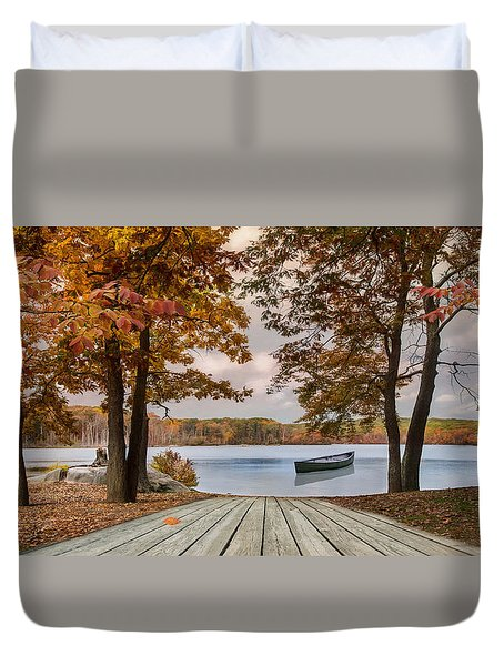 On The Lake Duvet Cover