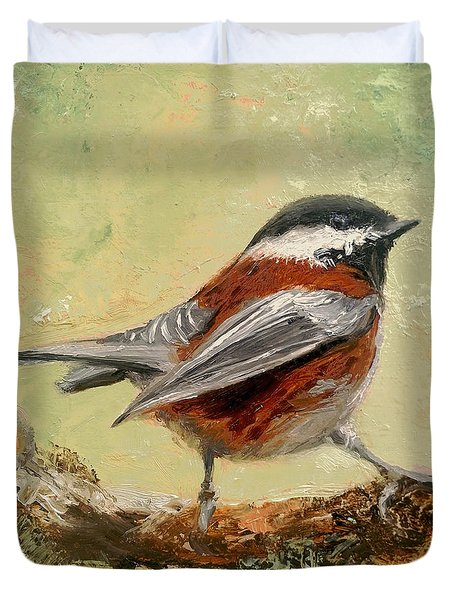 On The Lookout Duvet Cover by Barbara Andolsek