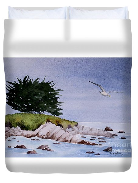 On The Lookout Duvet Cover