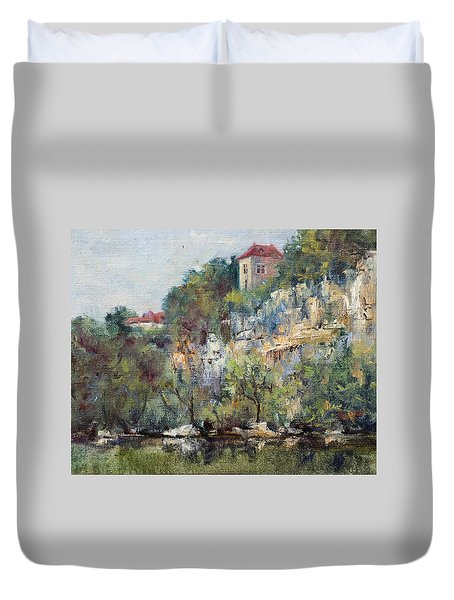 On The Lot River Duvet Cover by Jill Musser