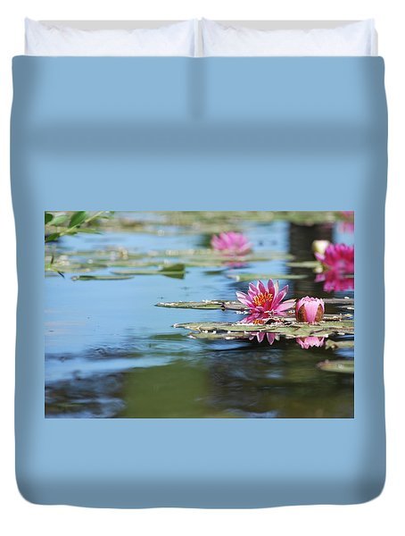 On The Pond Duvet Cover
