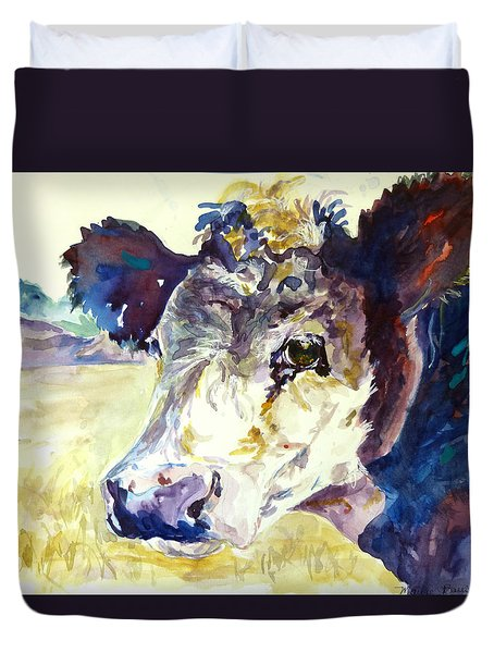 On The Range Duvet Cover by P Maure Bausch