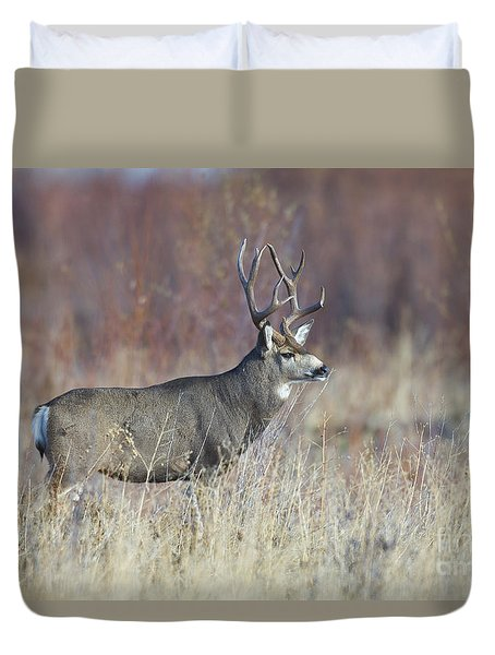 On The River Bank Duvet Cover