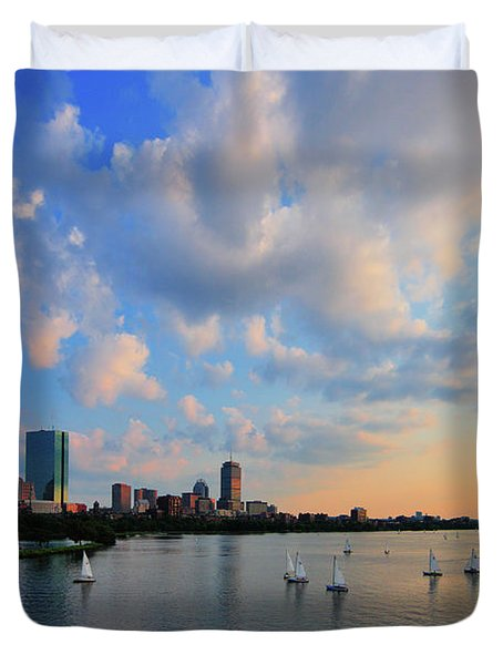 On The River Duvet Cover