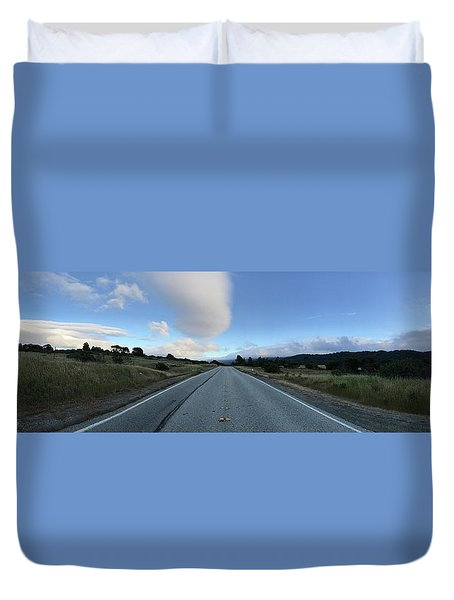 On The Road Duvet Cover by Alex King
