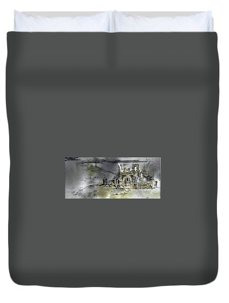 On The Road II Duvet Cover