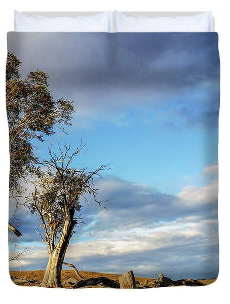 On The Road To Cooma Duvet Cover
