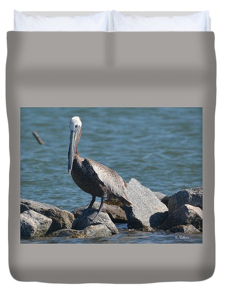On The Rocks.... Duvet Cover