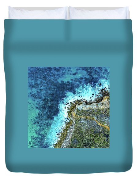 On The Rocks Duvet Cover