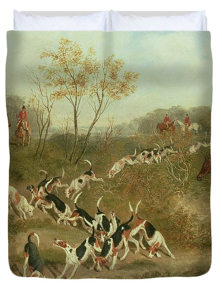 On The Scent Duvet Cover by James Russell Ryott