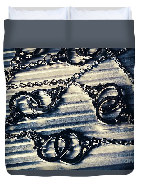 On The Sealed Indictment Case Duvet Cover
