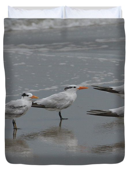 On The Seashore Duvet Cover