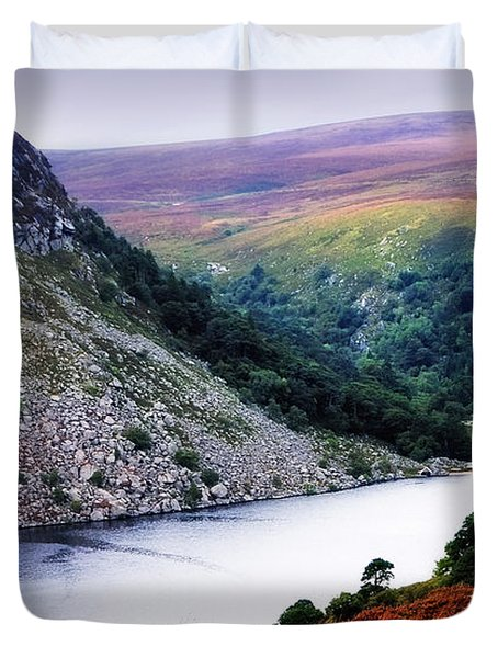 On The Shore Of Lough Tay. Wicklow. Ireland Duvet Cover