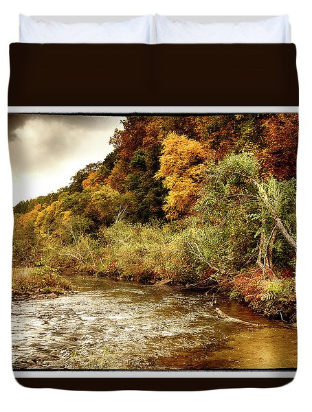 On The Susquehanna Duvet Cover