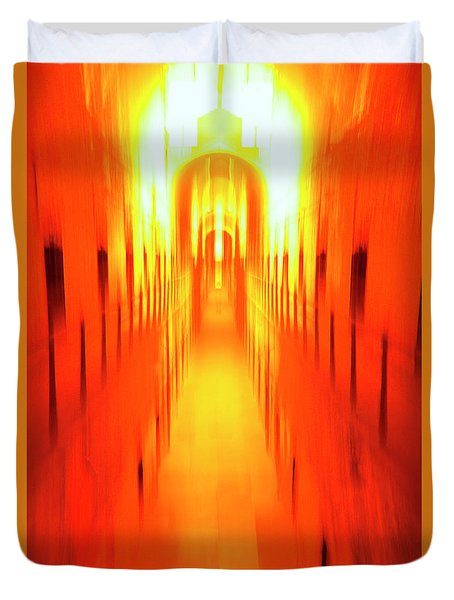 Duvet Cover featuring the photograph On The Way To Death Row by Paul W Faust - Impressions of Light