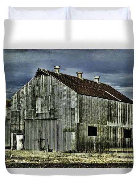 On The Way To Napa 2 Duvet Cover by Judy Wolinsky