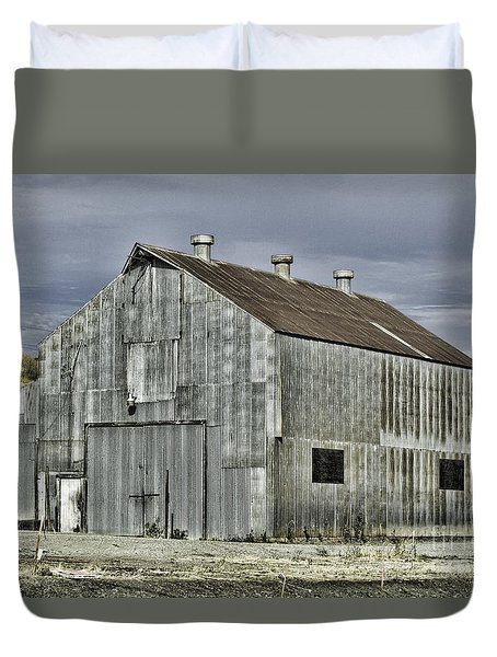 On The Way To Napa Duvet Cover by Judy Wolinsky