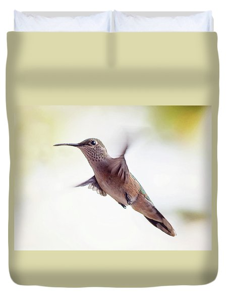 On The Wing Duvet Cover