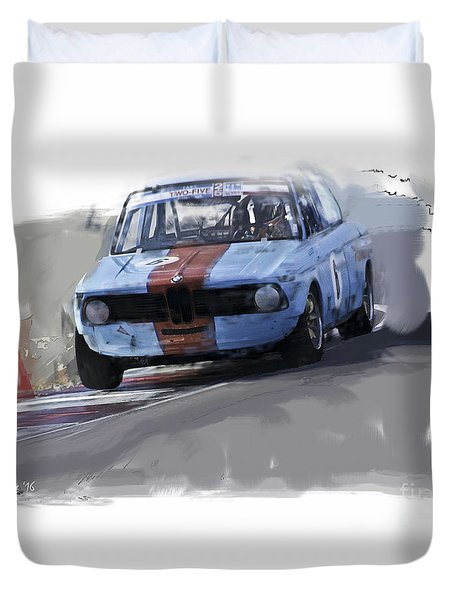 On Track 2002 Duvet Cover